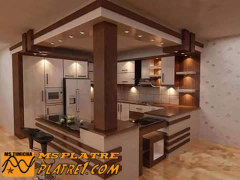 D coration de cuisine fran ais platre for Decoration platre cuisine