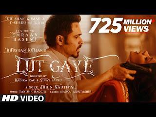 Lut Gaye Lyrics In Hindi Image