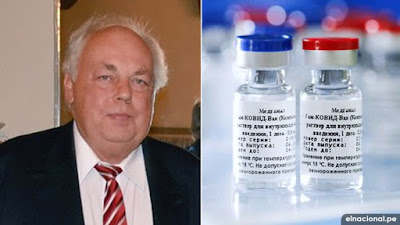 Rusia compartirá tecnología para producir su vacuna, afirma embajador ruso en Perú