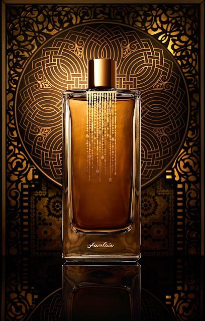 Promocyjne zdjęcie perfum Guerlain z serii Les Deserts d'Orient