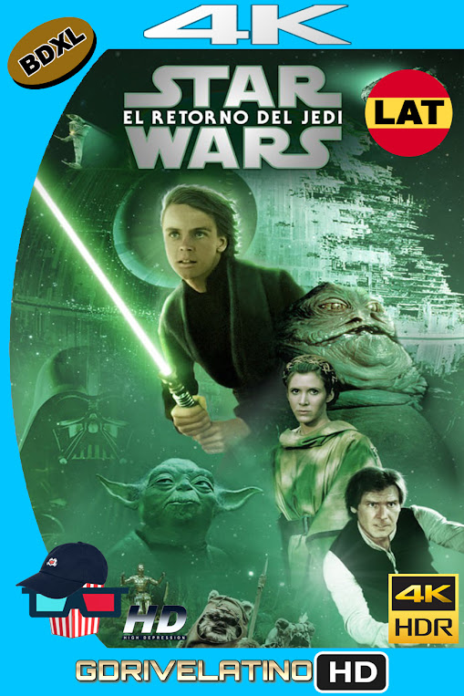 Star Wars : El Retorno del Jedi (1983) BDXL 4K UHD HDR Latino-Ingles MKV