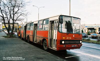 Ikarus 280 #314, MZK Kędzierzyn-Koźle, linia okrężna 9/5