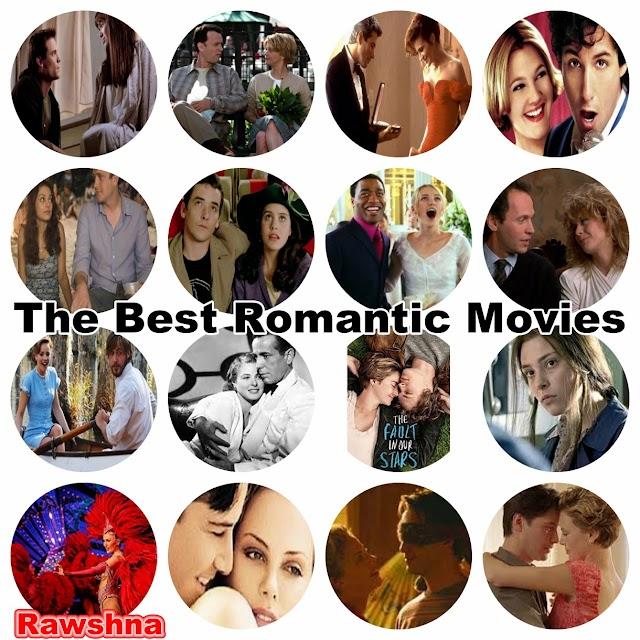 أفضل الأفلام الرومانسية الأجنبية على الإطلاق