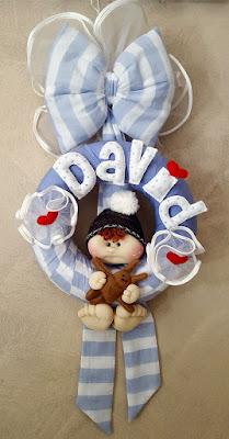 fiocco nascita bimbo david