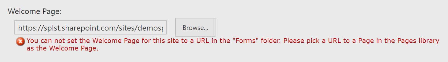Tricky SharePoint: How to: Set List/Document Library View Page as