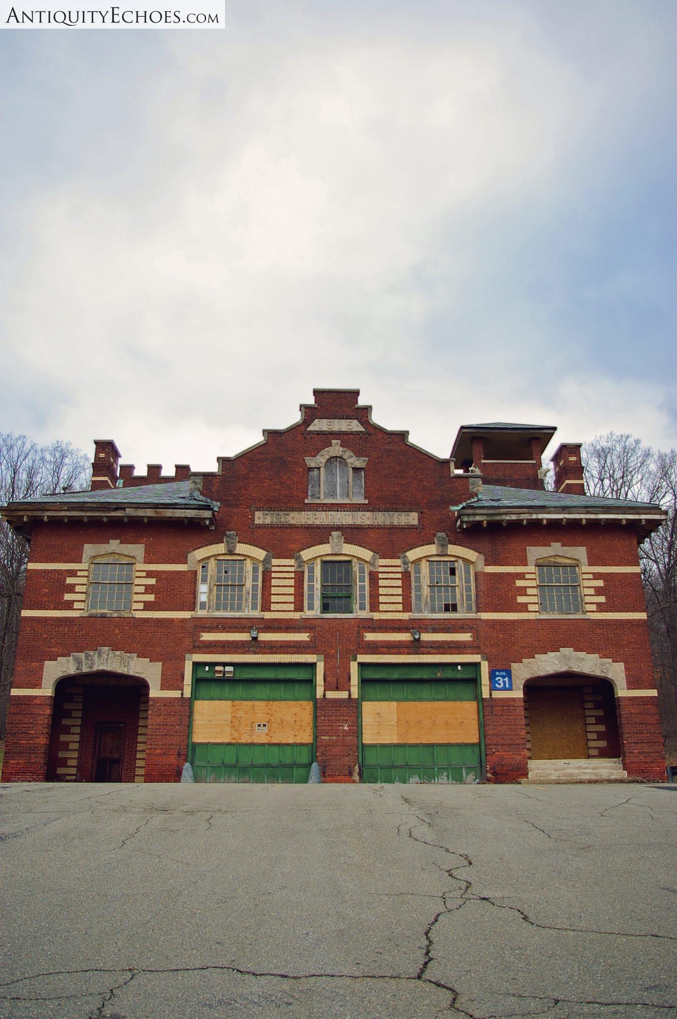 Overbrook Asylum - Fire Apparatus House