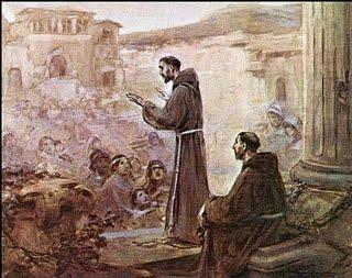 El Viejo y el Nuevo Mundo: El simbolismo en la evangelización.
