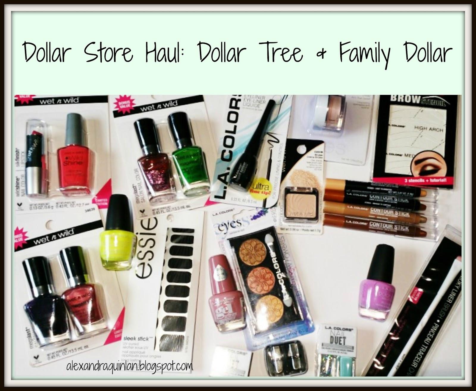 Alexandra Quinlann: | DOLLAR STORE HAUL | Dollar Tree & Family ...