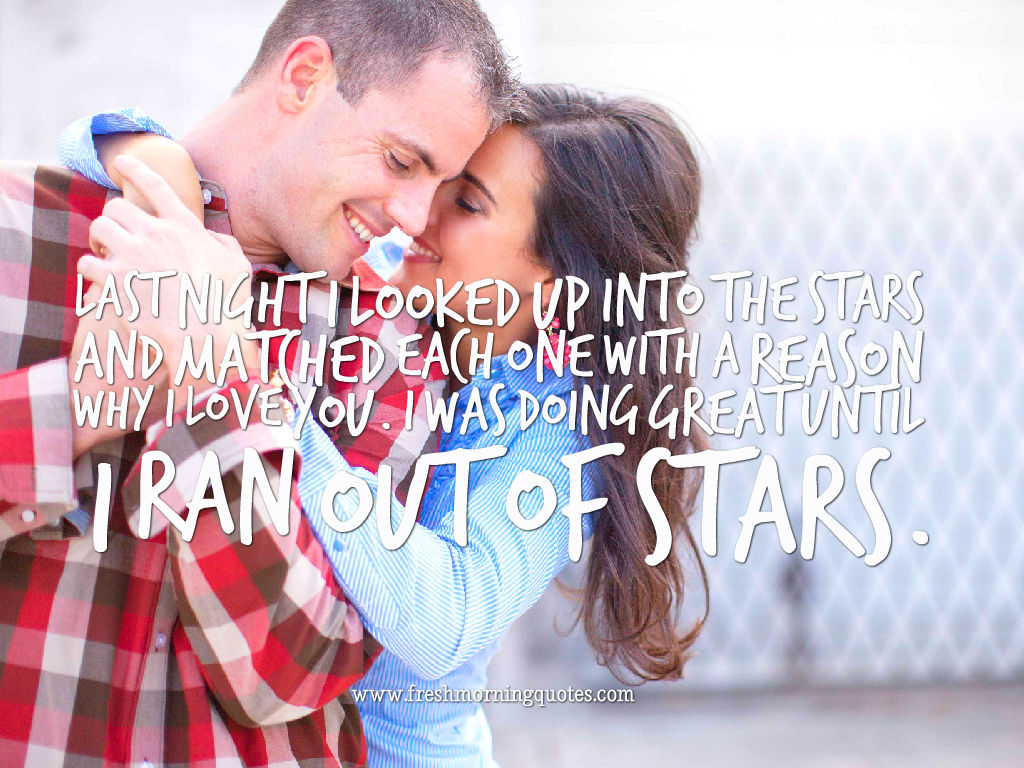 cute Romantic Things to Say to your girlfriend