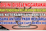 Iklan  Banner Pelaksanaan Program Pendidikan Kecakapan Wirausaha PKW di PKBM Keluarga Mulia