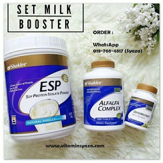milk booster shaklee