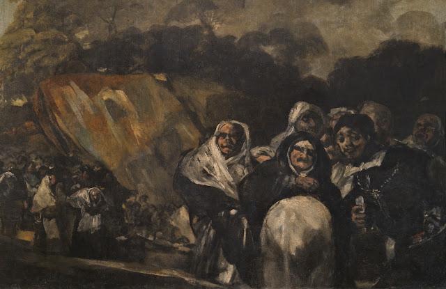 El Santo Oficio (fragmento), Francisco de Goya (Museo del Prado)