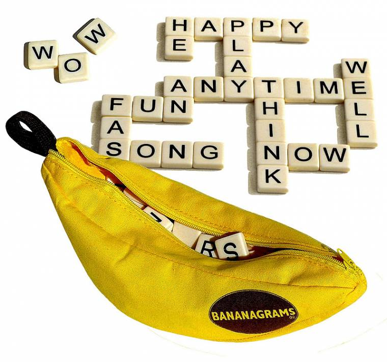 Bananagrams Challenge And Chance To Win Bananagram