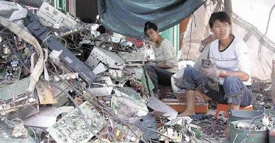 Situacion China desechos tecnologicos