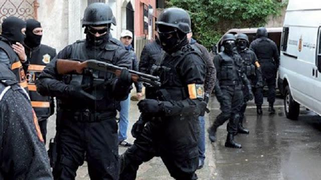 Démantèlement d'une cellule terroriste s'activant entre Casablanca, Mohammedia et Azilal- Map