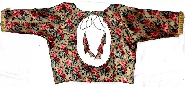 Princess-Cut Blouse-with-Boat-Neck