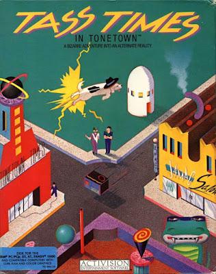 Portada videojuego Tass Times in Tonetown