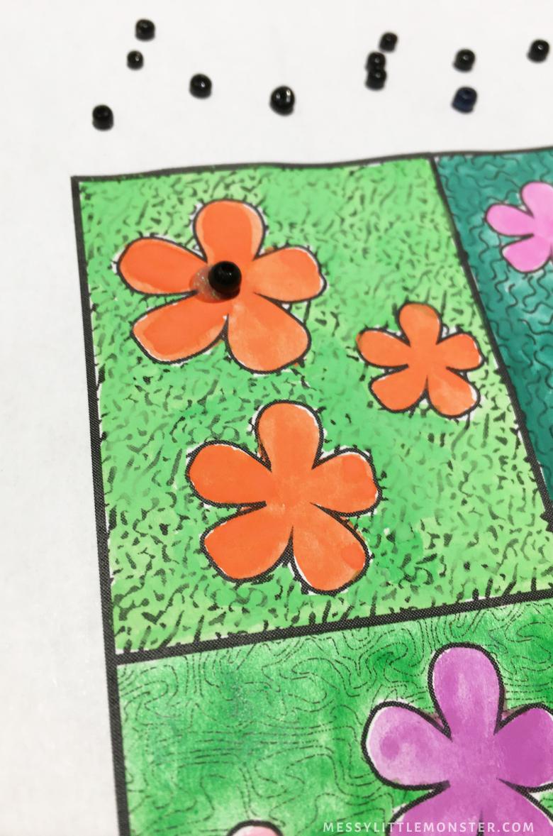poppy flower craft for kids