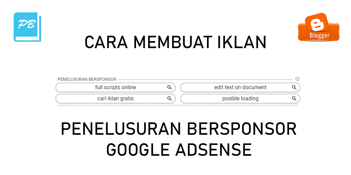 Cara Membuat Iklan Penelusuran Bersponsor Google Adsense