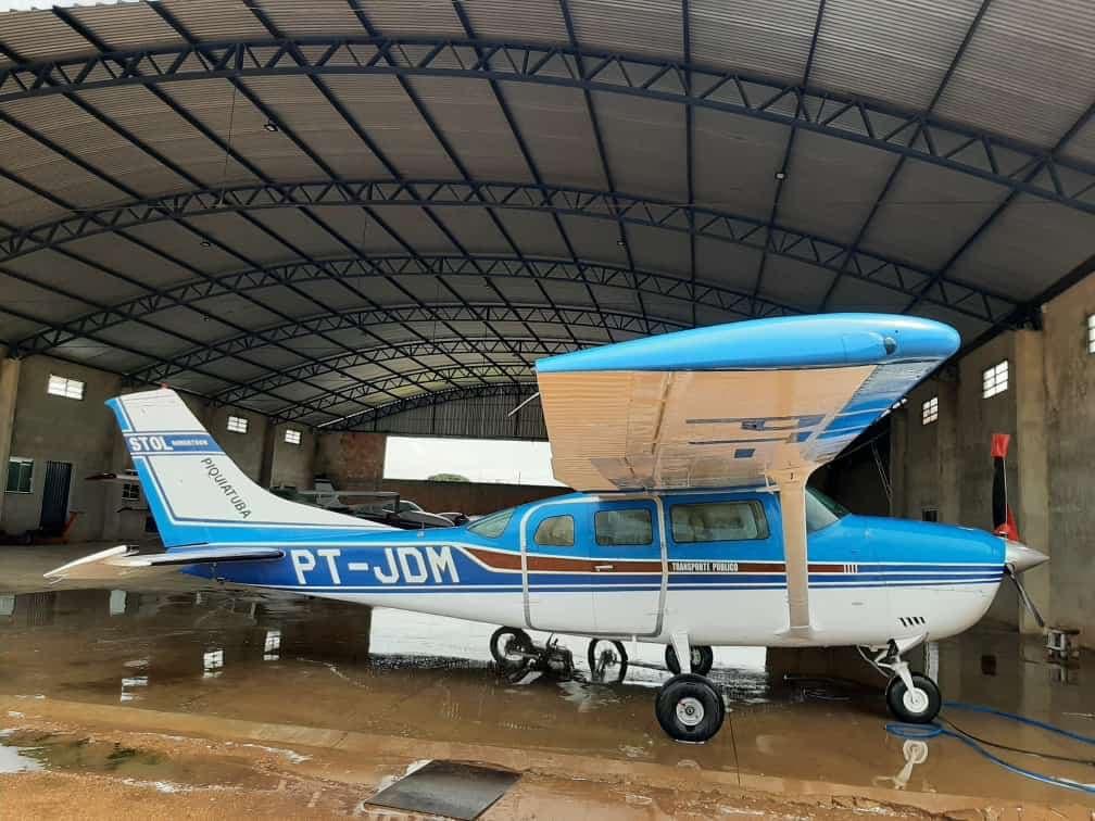 Avião é roubado, e Piquiatuba paga R$ 50 mil de recompensa por pistas; vídeo