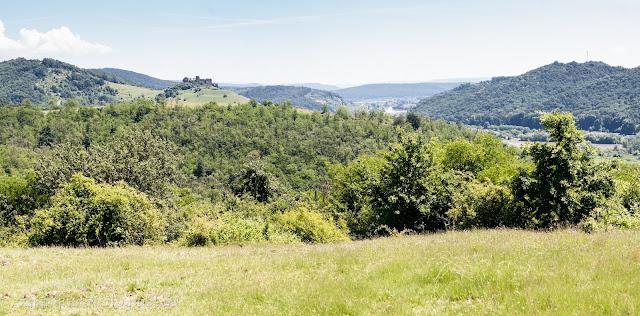 Solymos vára és a Zarándi-hegység