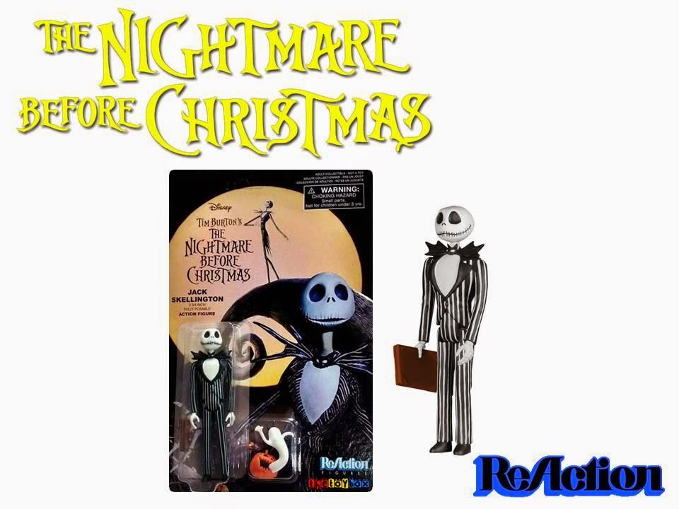 Funko Reaction Figures 2014 Nightmare Before Christmas Jack Skelton /& Zero SDCC