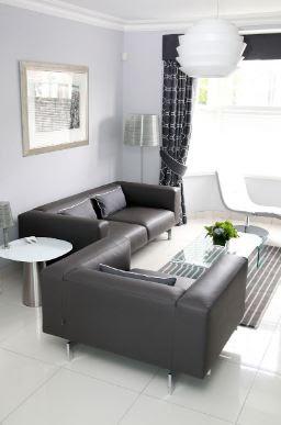 How to make a Unique Monochrome living room?
