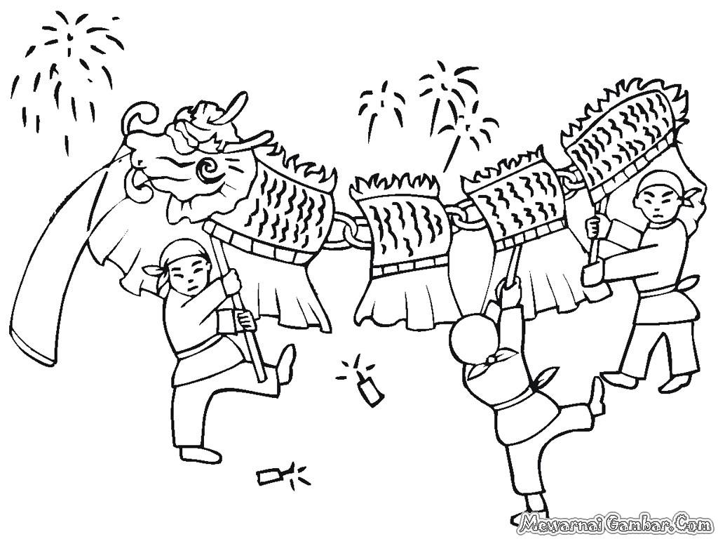 Mewarnai Gambar Tahun Baru Imlek