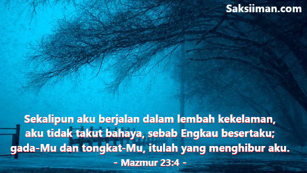 Ayat Alkitab Untuk Menghilangkan Rasa Takut