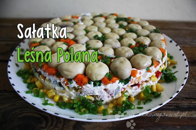 Sałatka Leśna Polana