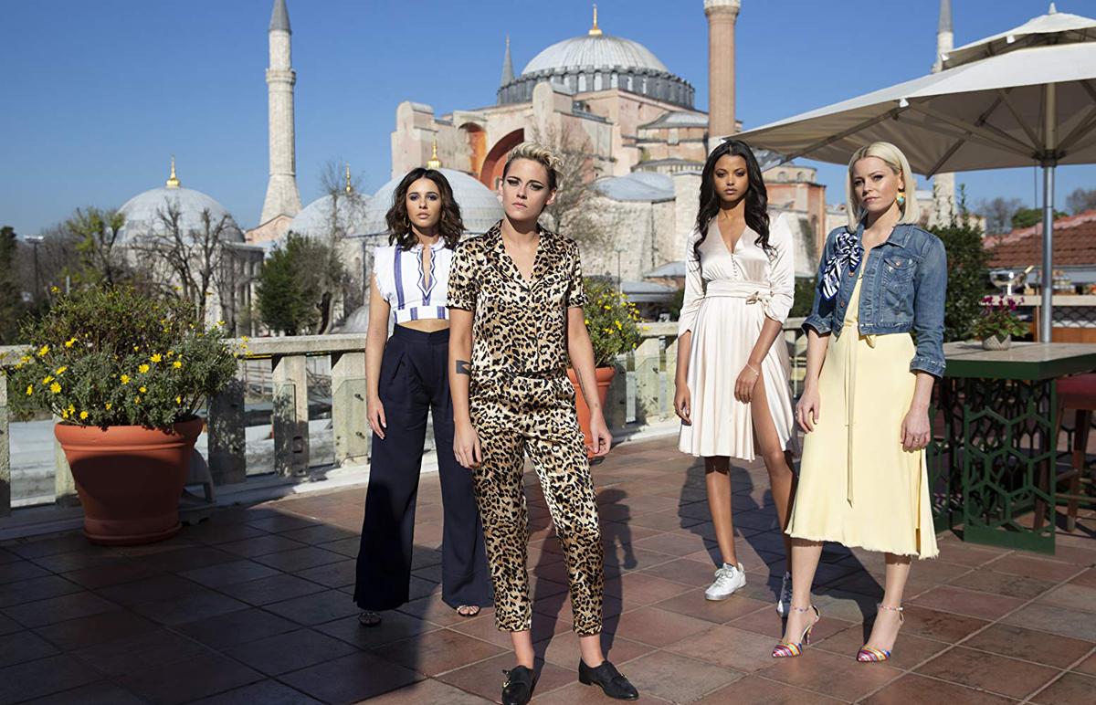 As Panteras - Elizabeth Banks, Kristen Stewart, Naomi Scott e Ella Balinska