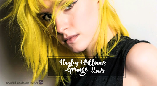 Hayley Williams: Looks grunge♥