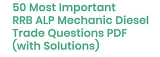 Mechanic Diesel Trade Questions PDF