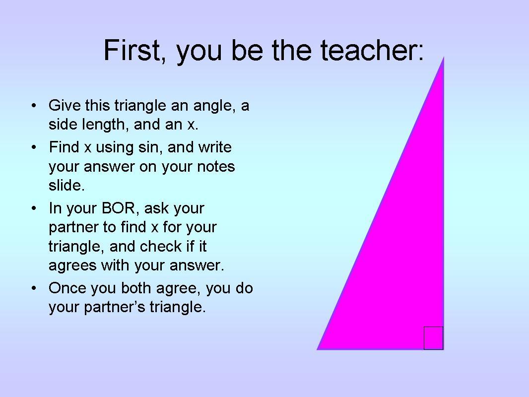 Mcsquared Creating Problems Activity For Grade 10 Trigonometry Class