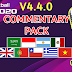 COMMENTARY PACK For PES 2020 Mobile V4.4.0