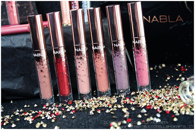 nabla holiday collection liquid lipstick