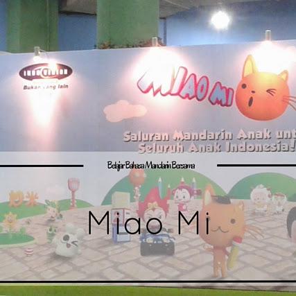 Belajar Bahasa Mandarin Bersama Miao Mi