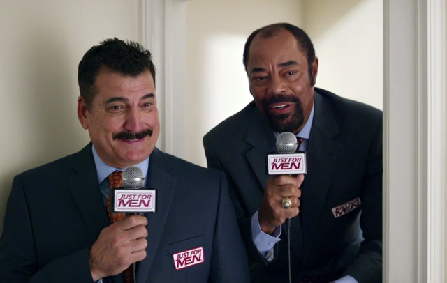 "Keith Hernandez and Walt ""Clyde"" Frazier are back in Latest Commercial for Just For Men"