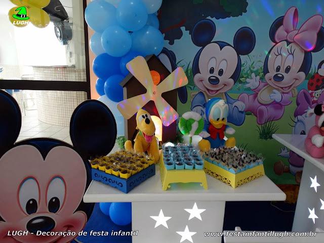 Decoração aniversário Baby Disney - provençal
