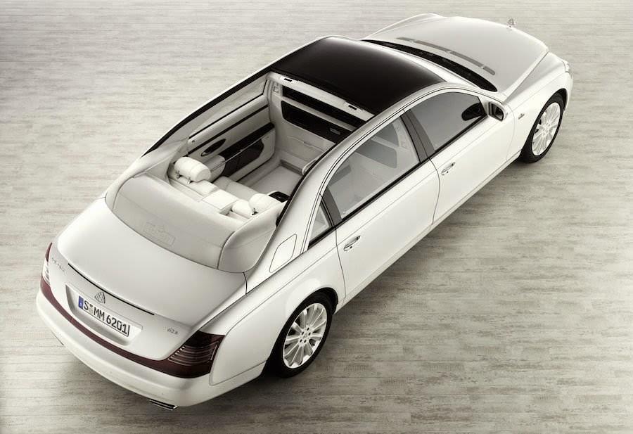 世界一高い価格の高級車 マイバッハ