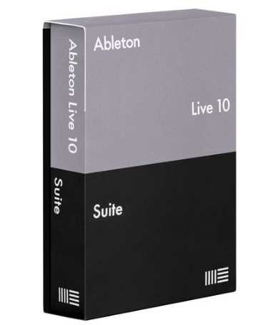 Ableton Live Suite 10.1.14 poster box cover