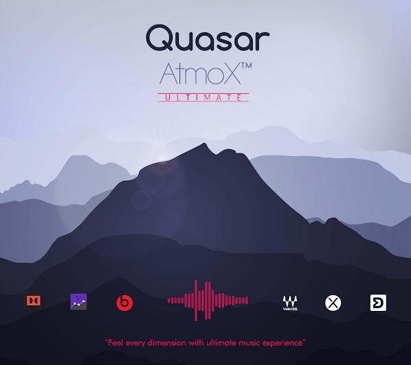 QuasarAtmoX Ultimate Sound Mod [Atmos   Viper   Xperia] Best