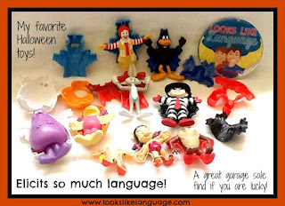 Using Halloween toys in speech/language therapy- Looks-Like-Language
