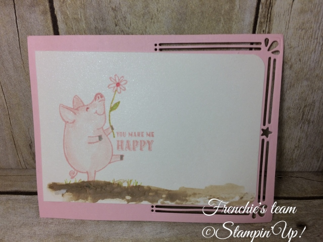 This Little Piggy, Stampin'Up!