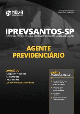 Apostila Concurso IPREVSANTOS 2020 Agente Previdenciário Grátis Cursos Online