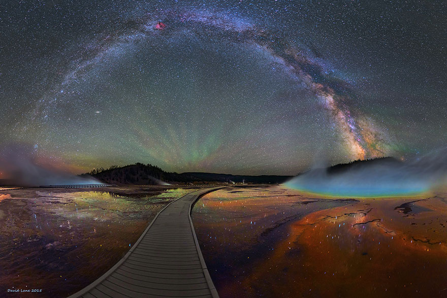 مجرة درب التبانة كما لم تشاهدها من قبل بعدسة المصور ديفيد لين 3