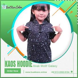 Kaos Anak Motif Hoodie Lengan Pendek Bahan Combed Galaxy <price>Rp25.000</price> <code>#Kaoshoodie</code>