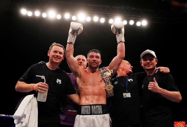 Scott Fitzgerald British Super Welterweight Champion