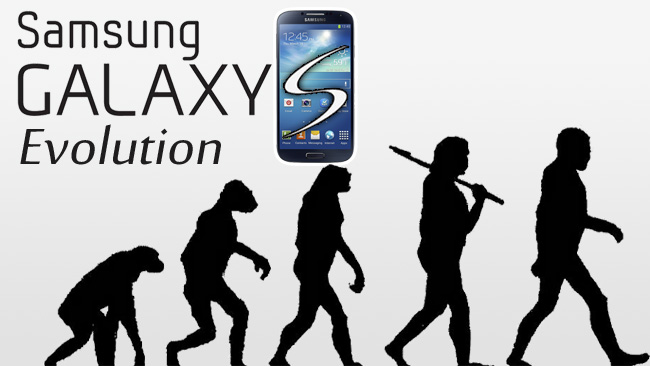 Evolusi Samsung Galaxy S