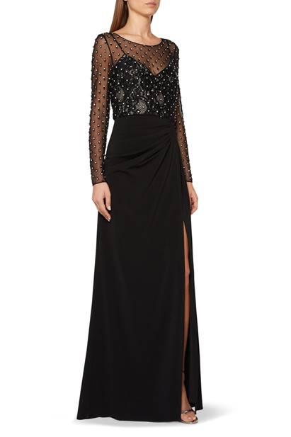 فستان سهرة مطرز من موقع أوناس